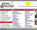 Write articles for web traffic
